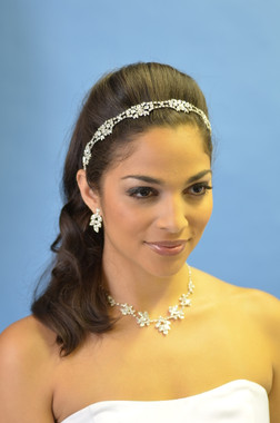 Ansonia Bridal 7731 - Rhinestone Stretch Headband
