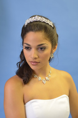 Ansonia Bridal 8211- Crystal and Rhinestone Tiara