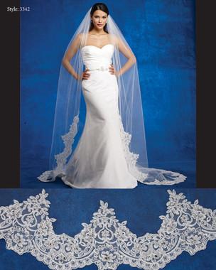 Marionat Bridal Cathedral Veil 3342