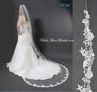 Giselle Bridal Veil Style SP307 - Wedding Veil