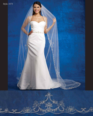 Marionat Bridal Veils 3373- The Bridal Veil Company - Beaded Embroidery Design