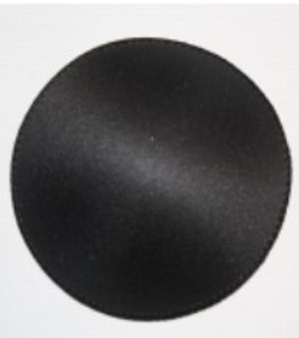 Round Bra Cup Size DDD - Black