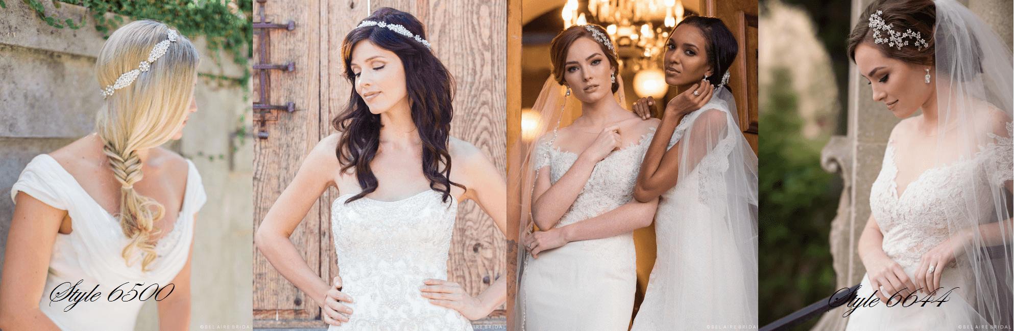 Bel Aire Bridal Style 6500, Bel Aire Bridal Halos, Bel Aire Bridal Veils