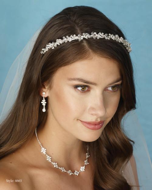Marionat Bridal 4665 Rhinestone band - Le Crystal Collection