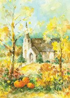 FRS7936 Church in Pastels