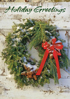 FRS736 Pine Bough Wreath