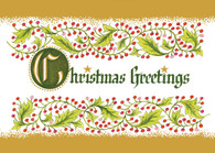 Christmas Greetings Stylized  #FRS450