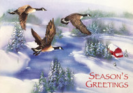 Winter Geese   #FRS916