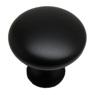 "AMEROCK Allison Flat Black 1-1/4"" Knob BP53005-FB"