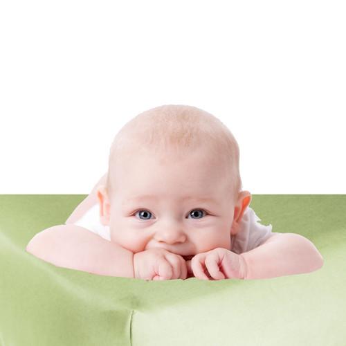 Baby Bliss Bamboo Crib Sheet - Honeydew