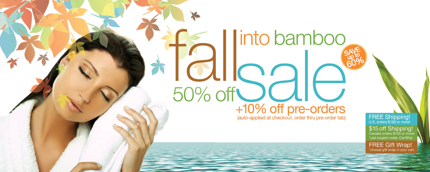 Bamboo Towels Now 50% Off. BambooBlissSheets.com/bamboo-towels/