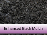 Enhanced Black Bark Mulch