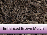 Enhanced Brown Bark Mulch
