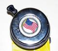 BP-03-03 CHROME BELL AMERICAN FLAG DESIGN