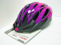 BH-00561HL HUFFY ADJUSTABLE HELMET LARGE BK/PP
