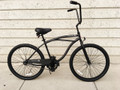 "CB-2601MMBK 26"" PORTOFINO BEACH CRUISER 1SPD MEN'S MBK/MBK"