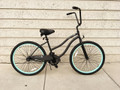 "26"" PORTOFINO BEACH CRUISER 1 SPD LADIES MBK/LGR"