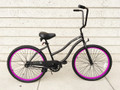 "26"" PORTOFINO BEACH CRUISER 1SPD LADIES MBK/PP"