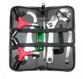 BP-47-05   TOOL SET IN LEATHER CASE