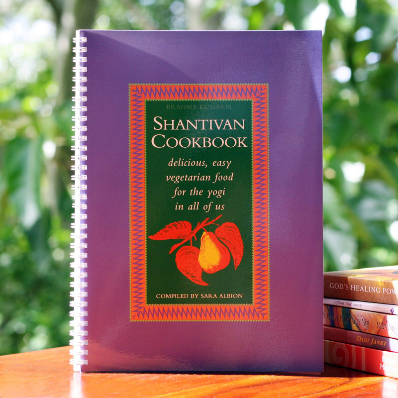 Shantivan Cookbook - Delicious & easy vegetarian versions of classic  favourites