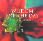 Wisdom Desk Calendar - A timeless calendar with inspiring slogans for every day of the year