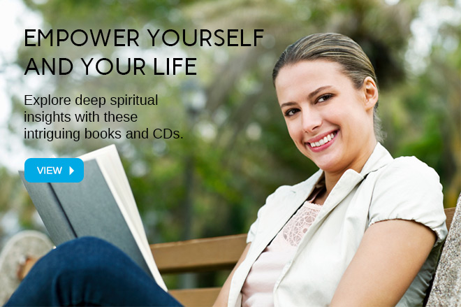 Explore deep spiritual insights with these intriguing books and CDs.