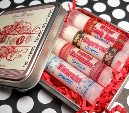 ForGoodnessGrape Winter Lip Candy Lip Balm Collection