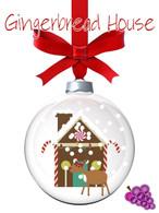Gingerbread House Lip Balm