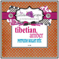 Tibetian Amber Perfume Oil - 5 ml - Roll On Perfume