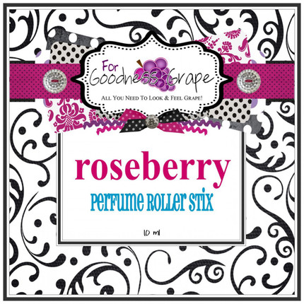 Roseberry Perfume Oil - 10 ml - Roll on Perfume