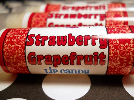 Strawberry Grapefruit Lip Balm