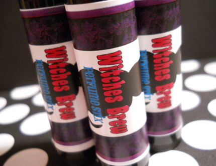 Witches Brew Halloween Solid Perfume Stick