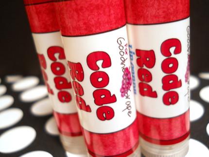 Code Red Lip Balm