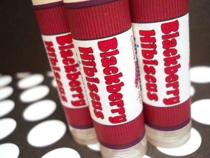 Blackberry Hibiscus Lip Balm