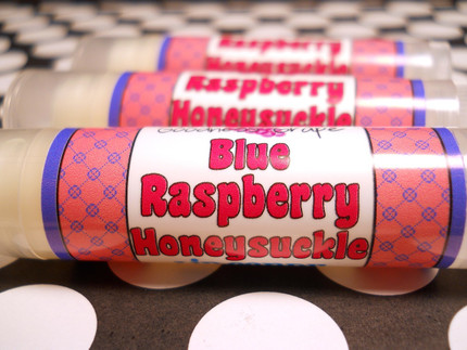 Blue Raspberry Honeysuckle Lip Balm