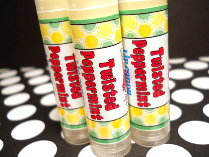 Twisted Peppermint Lip Balm