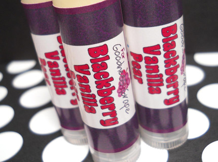 Blackberry Vanilla Pear Lip Balm