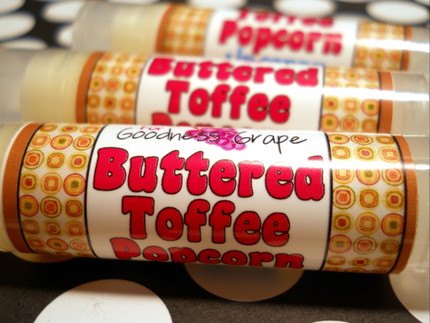 Buttered Toffee Popcorn Lip Balm
