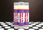 Black and Blue Cotton Candy Lip Balm