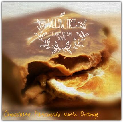 Chocolate Patchouli Orange Luxury Artisan Triple Butter Soap
