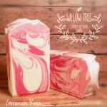 Geranium Rose Luxury Artisan Soap