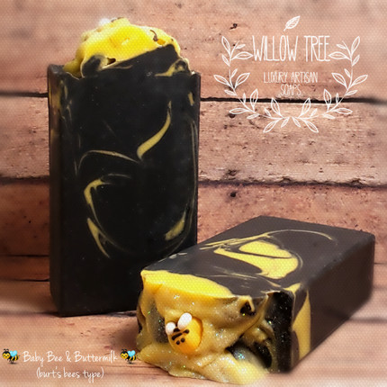 Baby Bee Buttermilk (Burt's Bees Type) Luxury Artisan Soap
