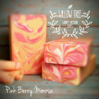 Pink Berry Mimosa Luxury Artisan Soap