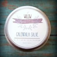 Organic Calendula Salve with Carrot Seed and Helichrysum