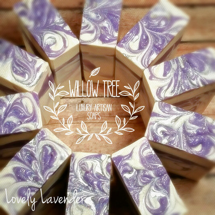 Lovely Lavender Luxury Artisan Soap