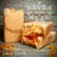 Warm & Woodsy Calendula Oatmilk Luxury Artisan Soap - All Natural
