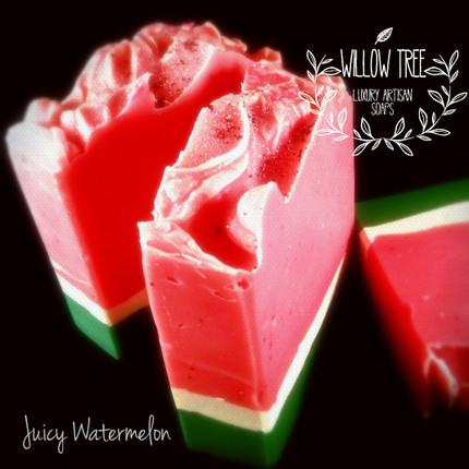 Juicy Watermelon Luxury Artisan Soap