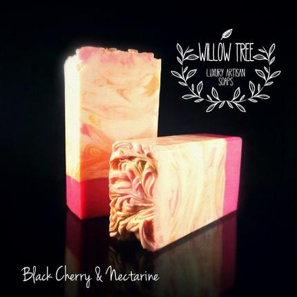 Black Cherry & Nectarine Luxury Artisan Soap