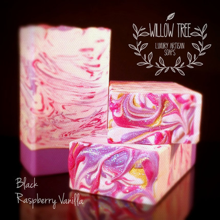 Black Raspberry Vanilla (bbw type) Handmade Luxury Soap