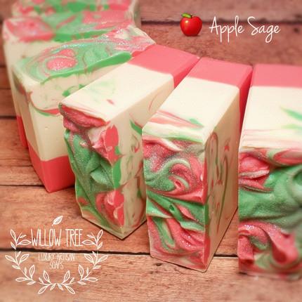 Apple Sage Luxury Artisan Soap